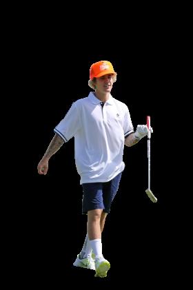 Justin Bieber Golfing PNG