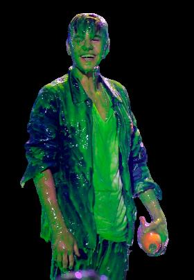 Justin Bieber Green Mucus PNG