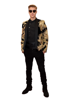 Justin Bieber in Sunglasses PNG