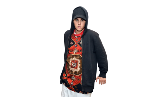 Justin Bieber Looking into Camera PNG