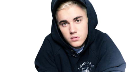 Justin Bieber looking into the Camera PNG