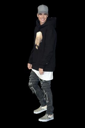 Justin Bieber Performing PNG