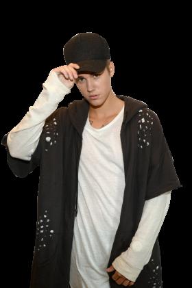 Justin Bieber Posing PNG