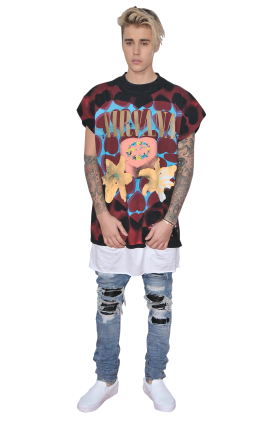Justin Bieber Relaxed PNG
