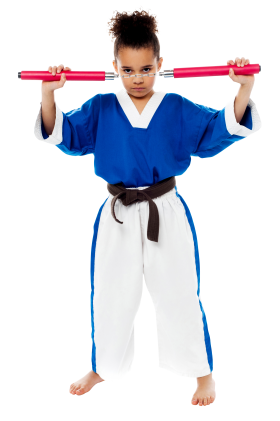 Karate Girl PNG