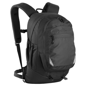 Kathmandu Black Backpack With Extra Front Pocket PNG