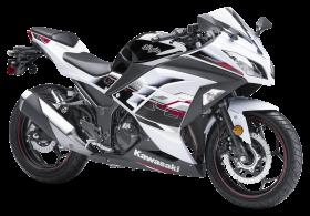 Kawasaki Ninja White PNG