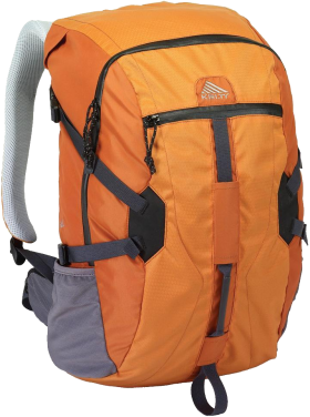 Kelty Orange Stylish Backpack PNG