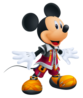 King Mickey  Mouse PNG