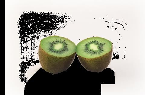 Kiwi Halved PNG
