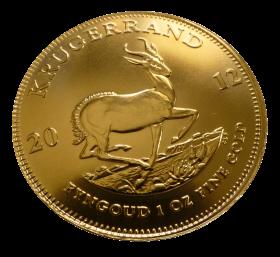 Krugerrand Gold Coin PNG
