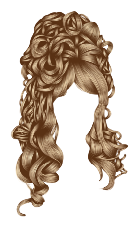Ladies Hair PNG