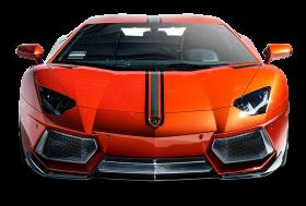 Lamborghini Aventador Coupe Front View Car PNG