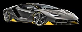 Lamborghini Centenario LP 770 4 Black Car PNG