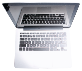 Laptop Top View PNG