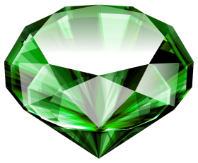 Large Emerald PNG