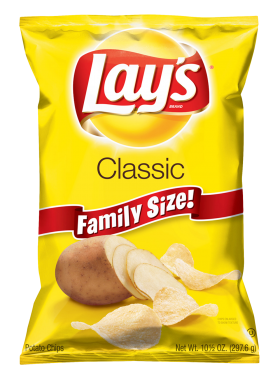 Lays Potato Chips PNG
