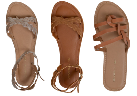 Leather Sandal Ladies PNG