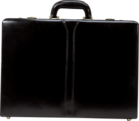 Leather Suitcase PNG