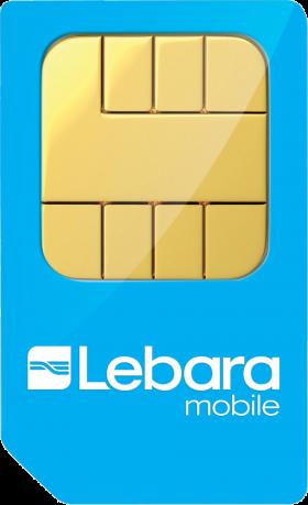 Lebara Sim Card PNG