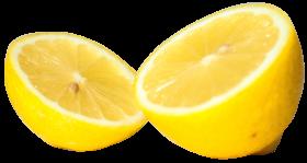 Lemon Cut half PNG