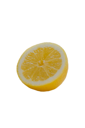 Lemon Halved PNG