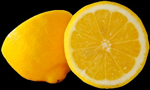 Lemons Cut PNG