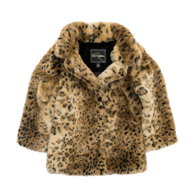 Leopard Fur Coat PNG