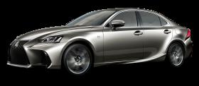 Lexus IS Silver Car PNG