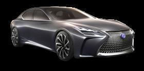 Lexus LF FC Grey Car PNG