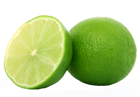 Lime Halved PNG
