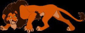 Lion King Scar] PNG