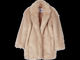 Little remix Jr Fur Coat Cardy PNG