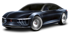 Luxury Giugiaro Gea Blue Car PNG
