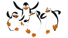 Madagascar Penguins PNG