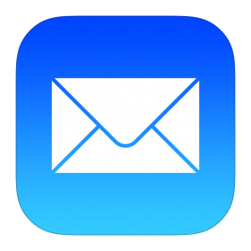 Mail Icon iOS 7 PNG