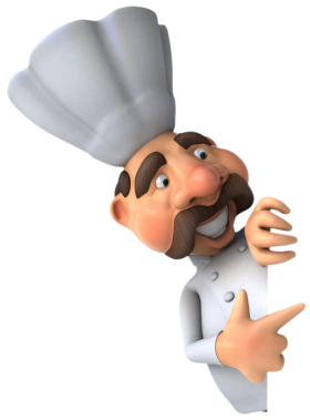 Male Chef PNG