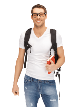 Male Student PNG