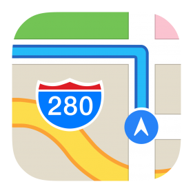 Maps Icon PNG