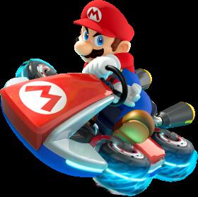 Mario  Driving PNG