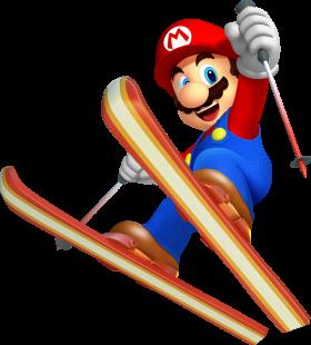 Mario Playing PNG