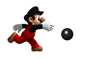 Mario Playing PNG