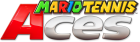Mario Tennis Aces Logo PNG