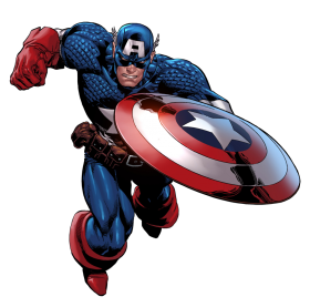 Marvel Captain America PNG