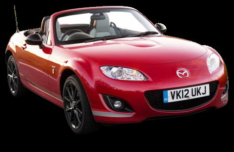 Mazda MX 5 Kuro Red Car PNG