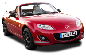Mazda MX 5 Kuro Red Car PNG