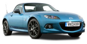 Mazda MX 5 Sport Graphite Car PNG