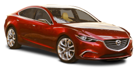 Mazda Takeri Red Car PNG