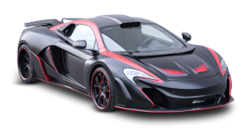 McLaren 650S Vayu Black Car PNG