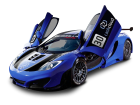 McLaren MP4 12C GT3 Racing Car PNG